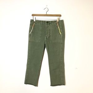 THE GREAT. The Straight Leg Army Pants Size 25